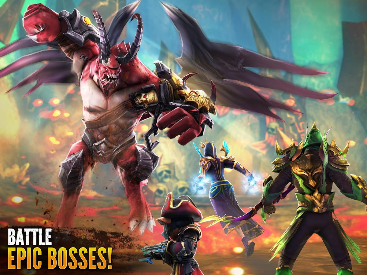 Order & Chaos 2: 3D MMO RPG- screenshot