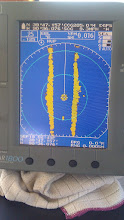 Photo: That blip beneath the center mark is The Zone