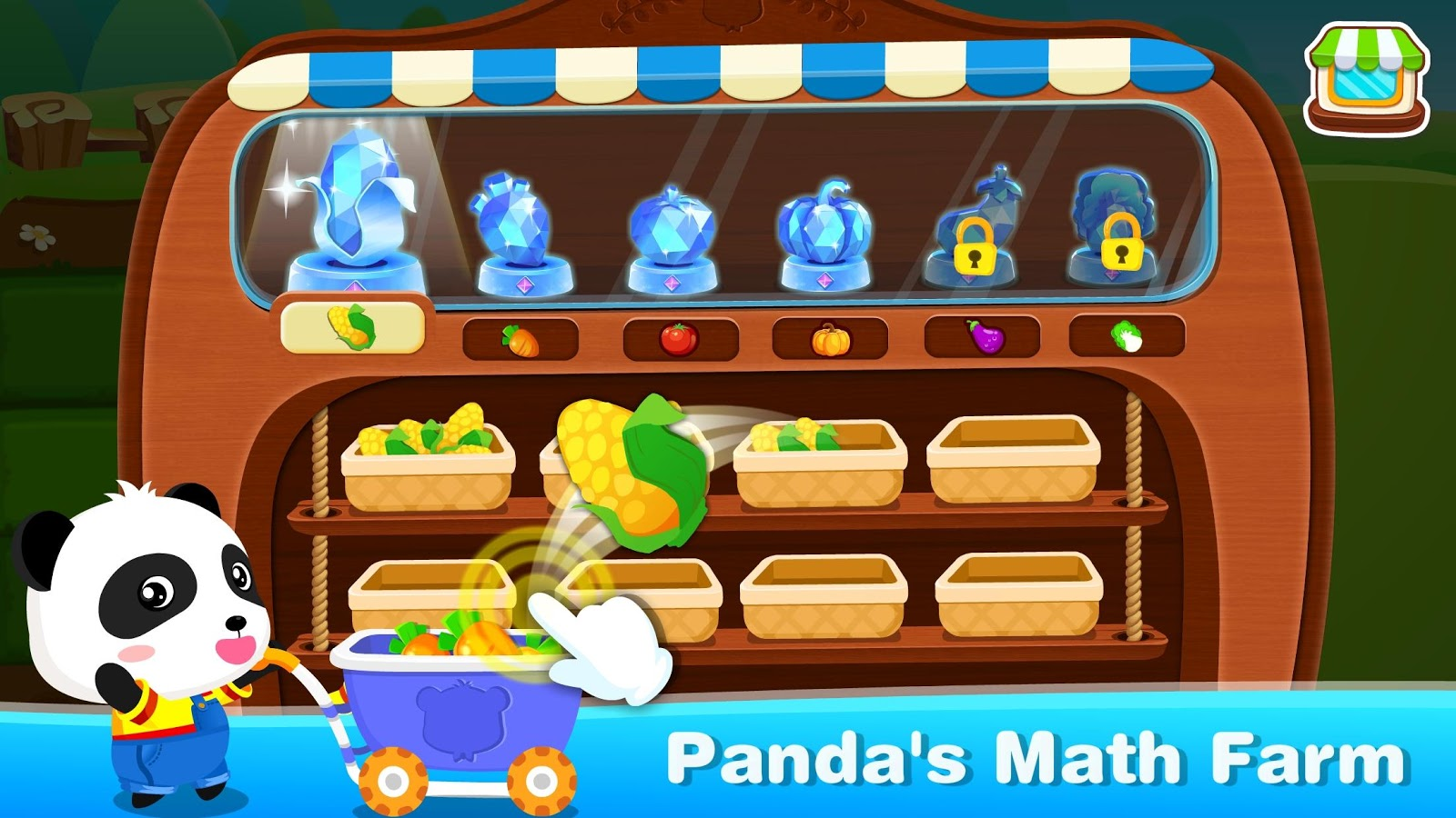 Little Panda Math Farm- screenshot