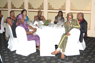 Photo: CPDC Members at dining table, Pegasus Hotel
