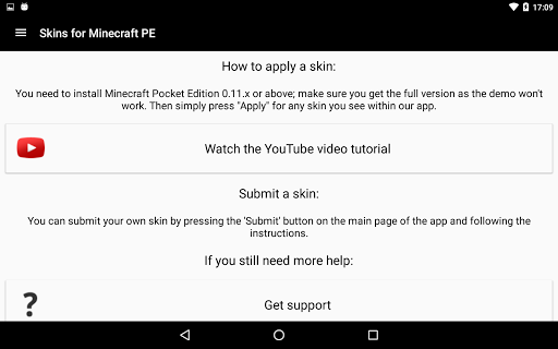 download skins for minecraft demo
