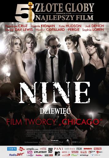 Polski plakat filmu 'Nine - Dziewięć'