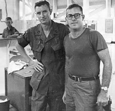 Photo: Ken Waters 231st Company Clerk on Right