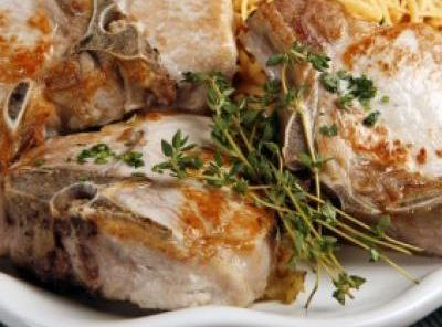 Sour Cream Pork Chops Recipe