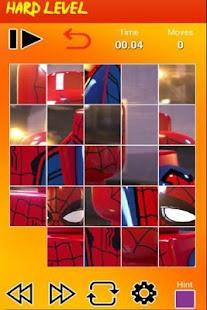 Puzzle Lego Spider - náhled