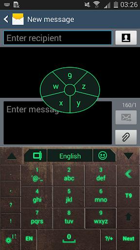 玩個人化App|Go Keyboard Nuclear Fallout 3k免費|APP試玩