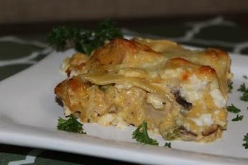 4 Cheese Chicken Lasagna Recipe