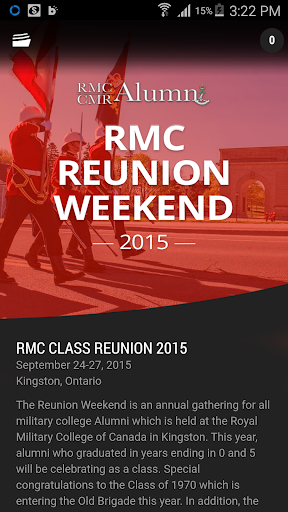 RMC Class Reunion