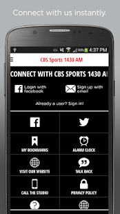 CBS Sports 1430- screenshot thumbnail