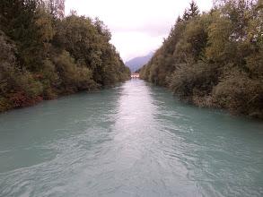 Photo: der Lech bei Reutte/Tirol