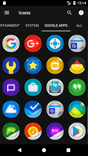 Souron - Icon Pack app for Android screenshot