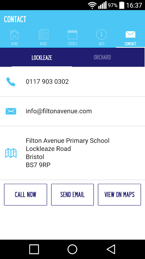 Filton Avenue Primary School- screenshot