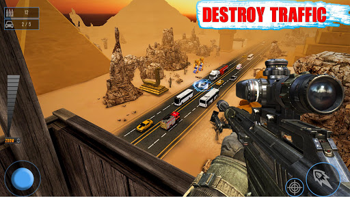 Sniper Traffic Shooter - New shooting games - FPS 1.8 de.gamequotes.net 1