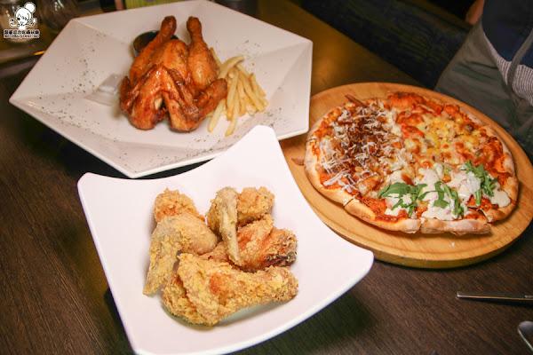 平價手工窯烤披薩吃到飽 X Double Cheese,多人聚餐打卡免費送窯烤雞
