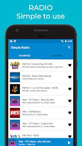 Simple Radio Player - Free Live AM FM 1.9 (Premium)