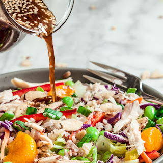 Asian Rice Salad (+Giveaway).