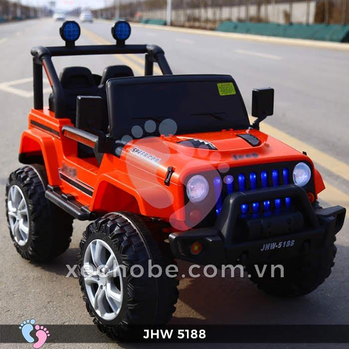 Xe ô tô điện 4 động cơ JHW5188 3