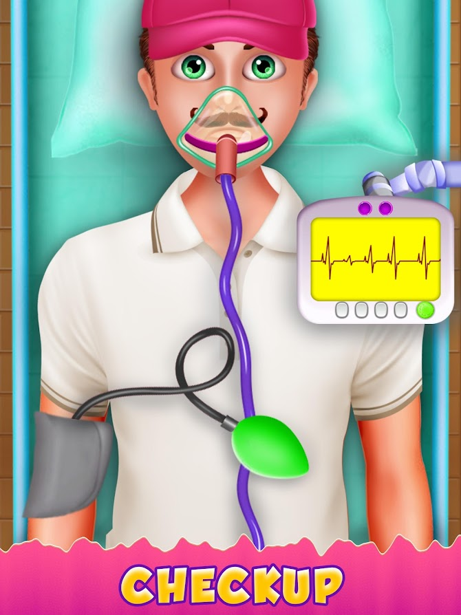 Blood Test Injection Simulator Doctor Android 14