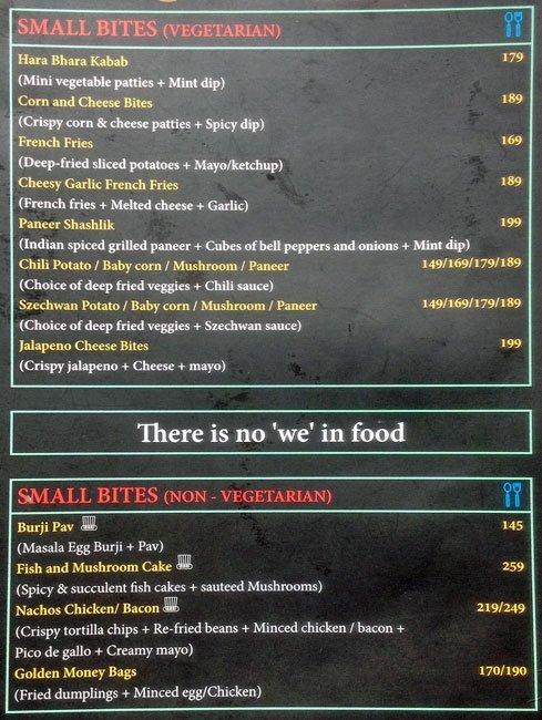 Happy Brew menu 12