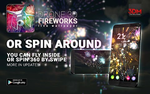 Drone 3D Fireworks screenshot 1