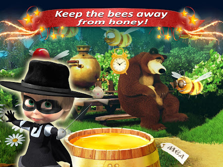 Masha and the Bear: Kids Games 1.04.1507151137 screenshot 1311