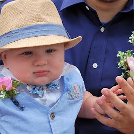 Nephew Cuteness Overload by Jessica Rose - Babies & Children Babies ( blue, baby, nephew, wedding, parentssayido,  )