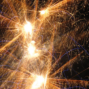 Happy New Year by Darnell Pantow - Public Holidays New Year's Eve ( fireworks )