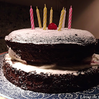 Chocolate Birthday Cake.
