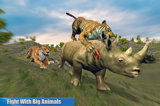 Tiger Family Simulator: Angry Tiger Games 1.0 screenshots 5