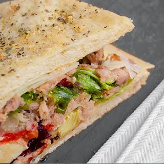 Tuna Focaccia Sandwich
