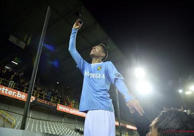 Anas Tahiri scoorde zaterdag zijn eerste seizoensgoal voor Lierse SK