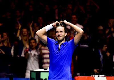 Lucas Pouille met la France sur la voie d'une deuxième finale de Coupe Davis consécutive