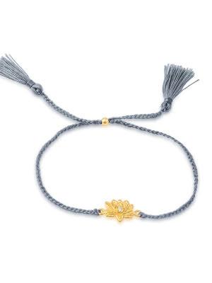 Ananda Soul, Padma lotus armband guldpläterat