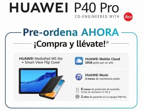 HUAWEI P40 PRO OFICIAL PROMO