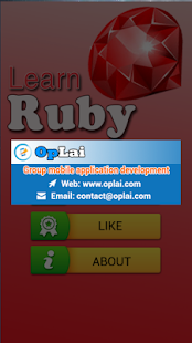 Learning Ruby programming- screenshot thumbnail