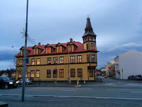 Photo: L'architecture islandaise ... plutôt originale