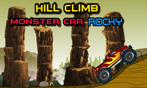 Hill Climb Monster Car Rocky