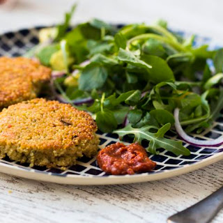 Quinoa and Halloumi Burger Recipe