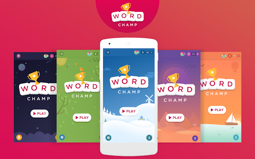 Word Champ - Word Games, Free Word Connect Game  captures d'écran 1