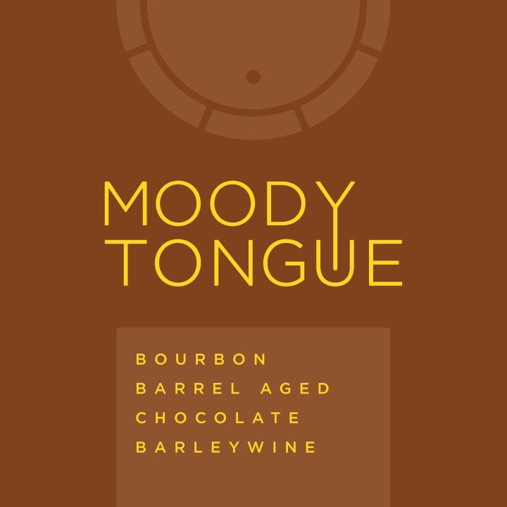 Logo of Moody Tongue Bourbon Barrel Aged Chocolate Barleywine
