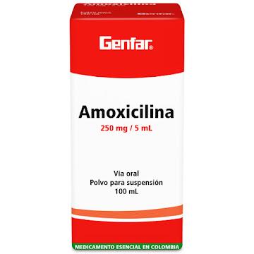 Amoxicilina Genfar 250Mg
