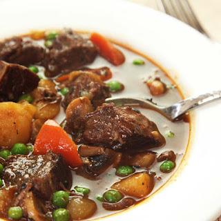 Pressure Cooker American Beef Stew.
