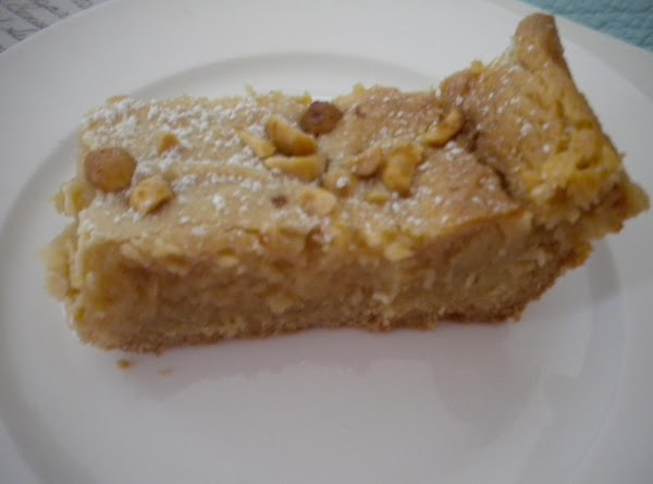 Gooey Peanut Butter Cake W/ Chopped Peanuts Recipe