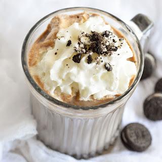 Oreo Hot Chocolate.