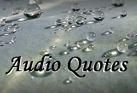 Audio Quotes About Life Amazing Audio Quotes To Inspire  Android Apps On Google Play