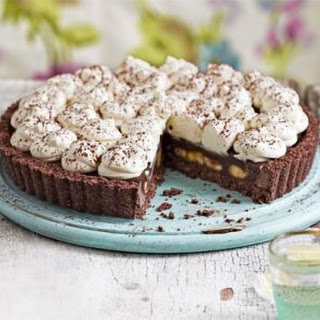 Chocolate Coconut Banoffee Pie