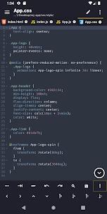 Acode – powerful code editor APK 1