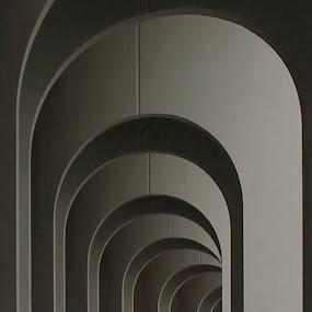 CNU Arches by Terri Schaffer - Buildings & Architecture Architectural Detail