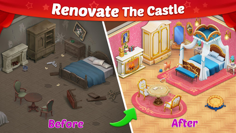 Castle Story: Puzzle & Choice Screenshot 0