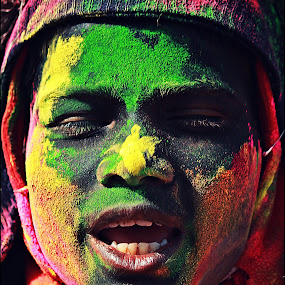 Colours of Life by Indrajit Bhattacharya - Novices Only Portraits & People